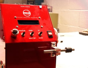Mojotone Pickup Winding Machine
